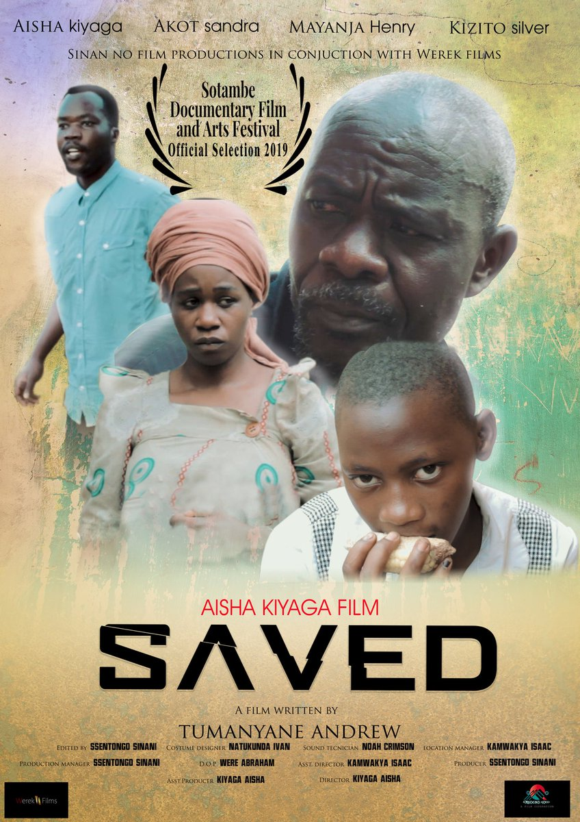 Submission and select movies project for the screening at the 6th SOTAMBE FILM FESTIVAL that will take place in period 21 - 29 September 2019 in Kitwe, Zambia. So tell your friends and family to attend to our movie screening BREAD WINNER AND SAVED! @Sotambefestival