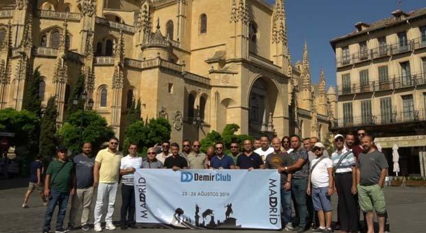 DemirClub'lı iş ortakları İspanya'da bir araya geldi