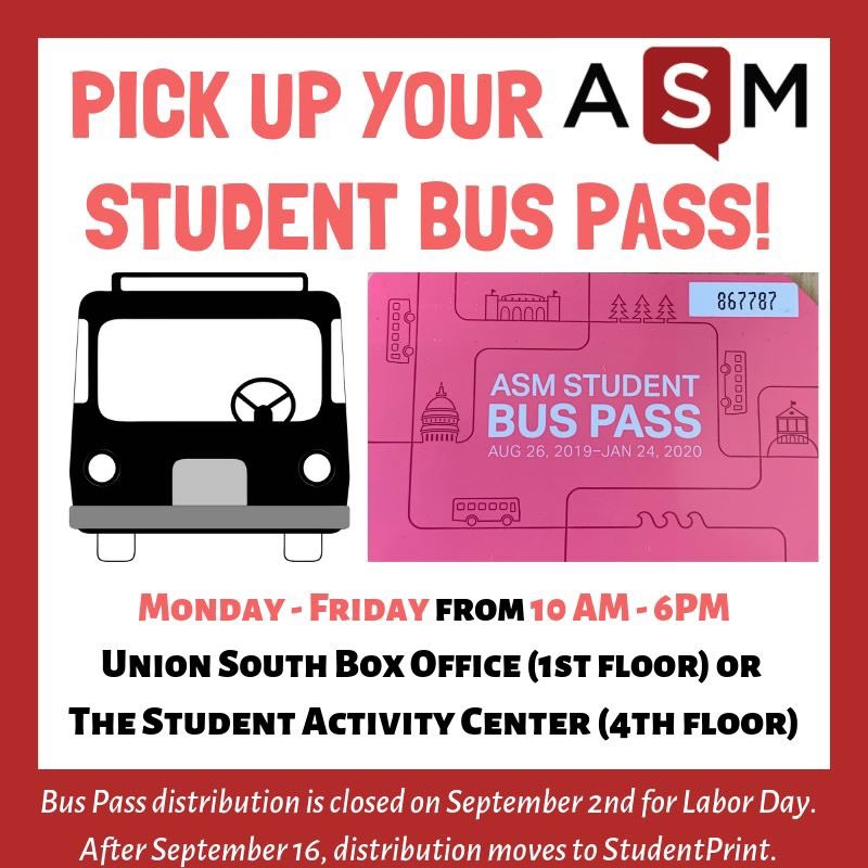 Asm On Twitter Make Sure To Pick Up Your Asm Student Bus Pass This Fall To Receive Unlimited Rides Throughout The Madison Metropolitan Area On Metro Transit Madison S Public Transportation System This