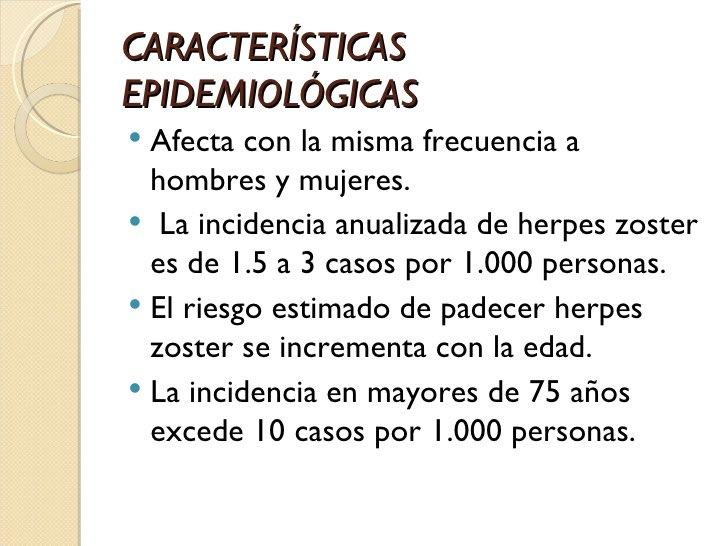 Herpes en el hombre sintomas