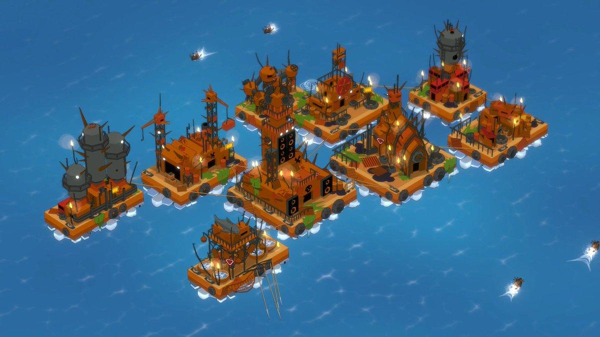 地表が完全に水没した世界を舞台にした、街建設ストラテジー。リソースを管理し、インフラを整えて、海上都市を築き上げよう。新たな技術を研究し、遠征隊を派遣して資源を回収。3つの強大な派閥との関係も重要だ。Steam:Junk