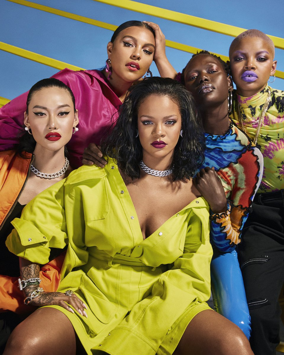 🥰 so proud to say that @fentybeauty is NOW available at Tmall Global, and in Hong Kong & Macau at T Galleria by@DFSOfficial@sephorahongkong@harveynicholshk, Beauty Bazaar &Beauty Avenue.