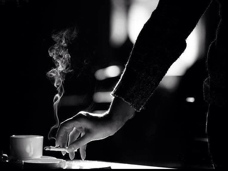 Картинки кофе с сигаретой со словами