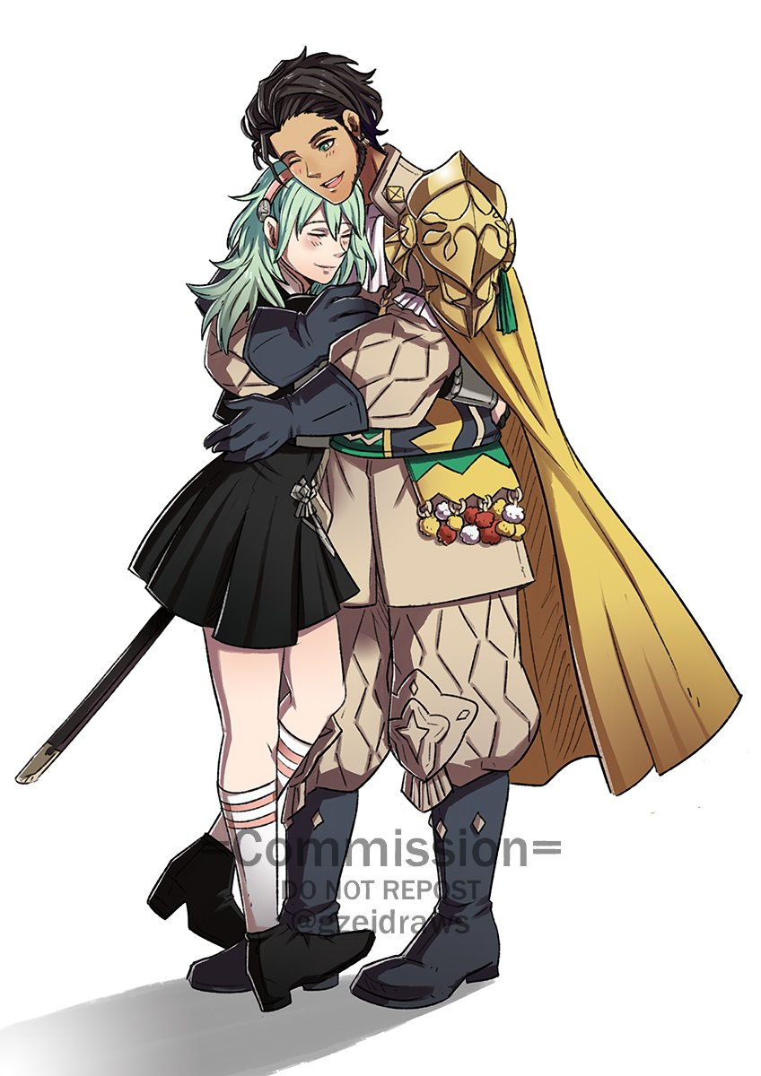 #FE3H Claude x Byleth Commission for  𝗦𝗵𝗶𝗿𝗹𝗲𝘆   #FE3HSpoilers *Please don't repost unless you're the client* https://t.co/5XVT4aOyg4