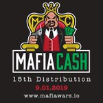 Image for the Tweet beginning: The 15th MAFIACASH Distribution has