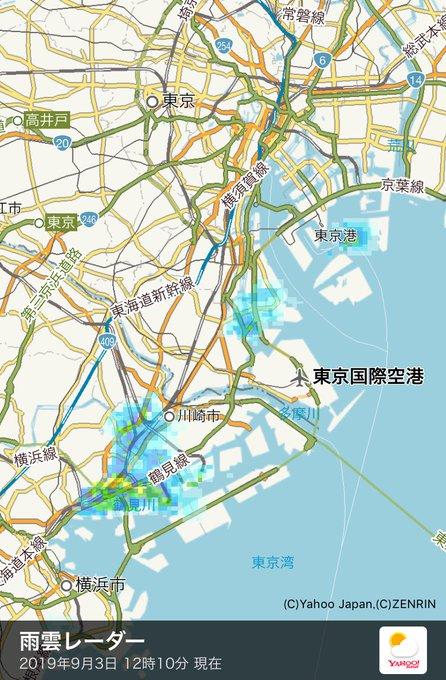 市 雨雲 青葉 区 レーダー 横浜