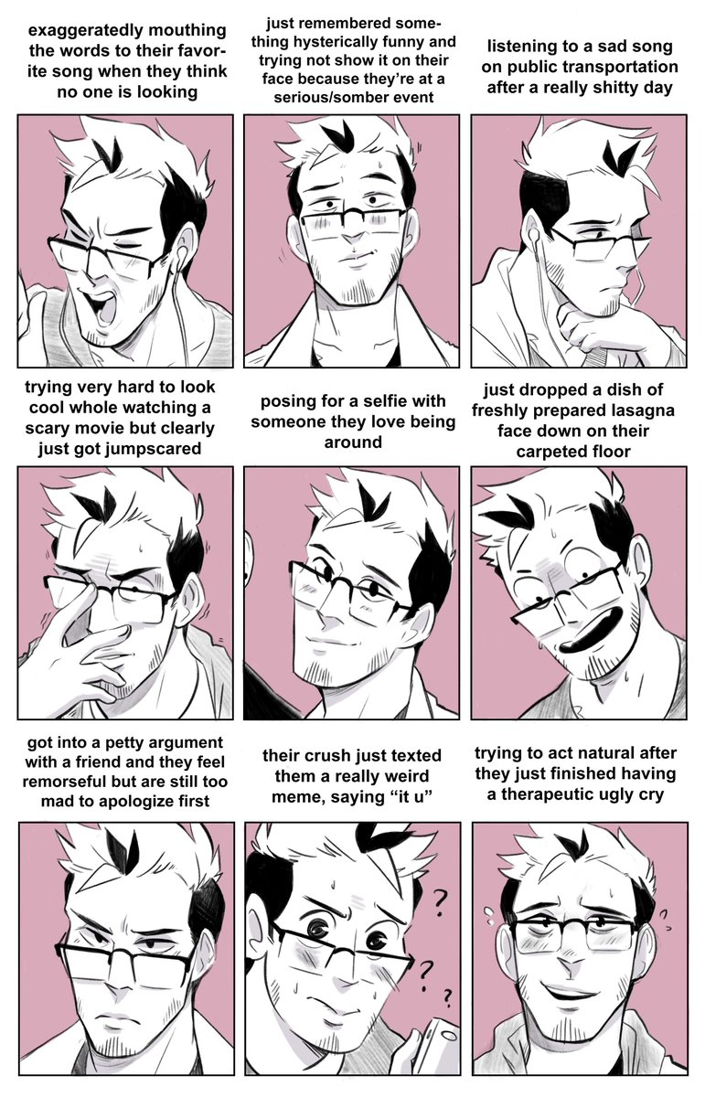 Facial Expression Memes Drawing