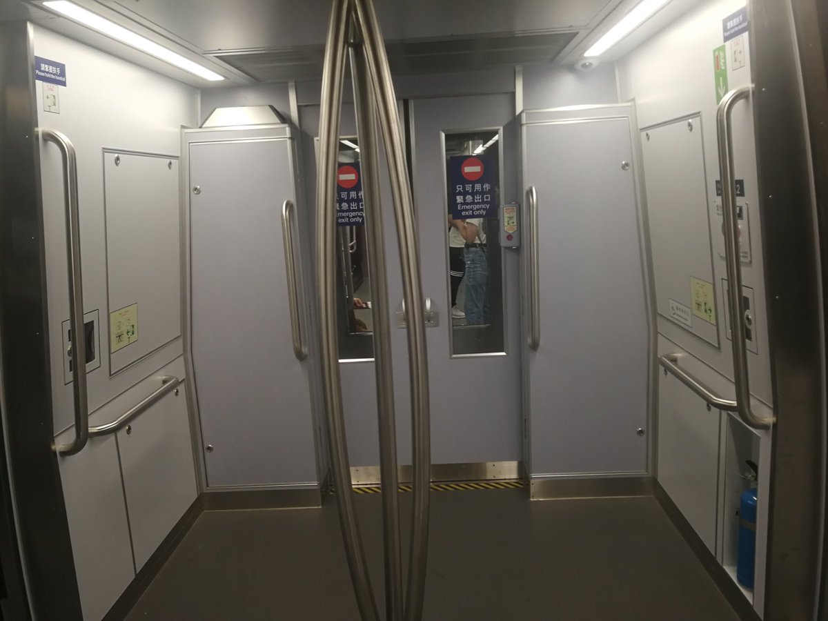 To anyone still wondering if the #HongKongProtest is affecting the economy, I present to you my #hongkongairport train carriage (two passengers and five staff) and a random pic of empty seats. I've never seen it like this before. <br>http://pic.twitter.com/gxT53FKcAS