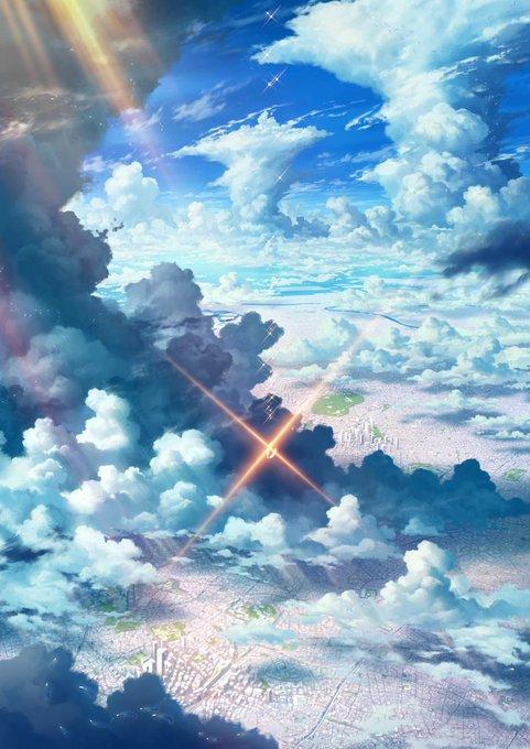 ラブリーiphone 壁紙 天気 天気の子 空 最高の花の画像