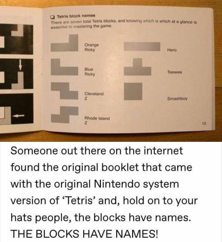 Tetris fans assemble!