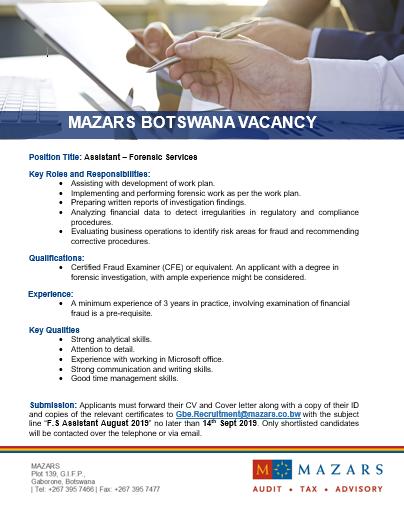 Mazars Botswana (@MazarsBotswana) | Twitter