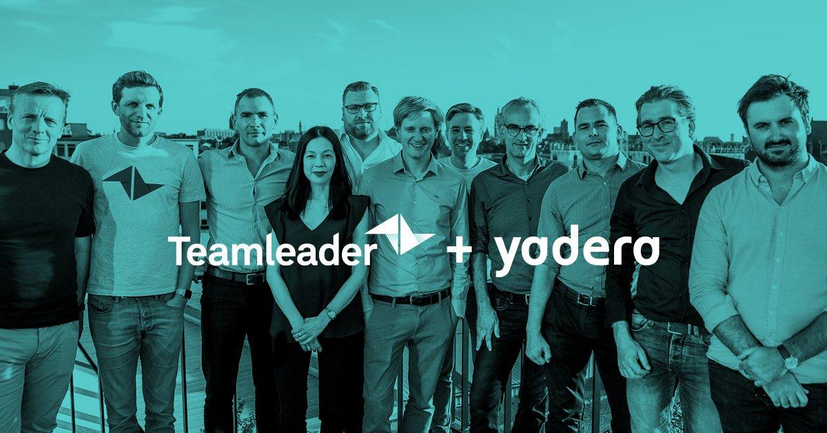 Groot nieuws! Trots kondigen we aan dat Yadera voortaan onder de vleugels van Teamleader valt. We zijn ervan overtuigd dat we samen ieder Europees agency de best mogelijke oplossing kunnen voorzien.  https://t.co/TxQ6MjzV7o https://t.co/N1UGBELv2n