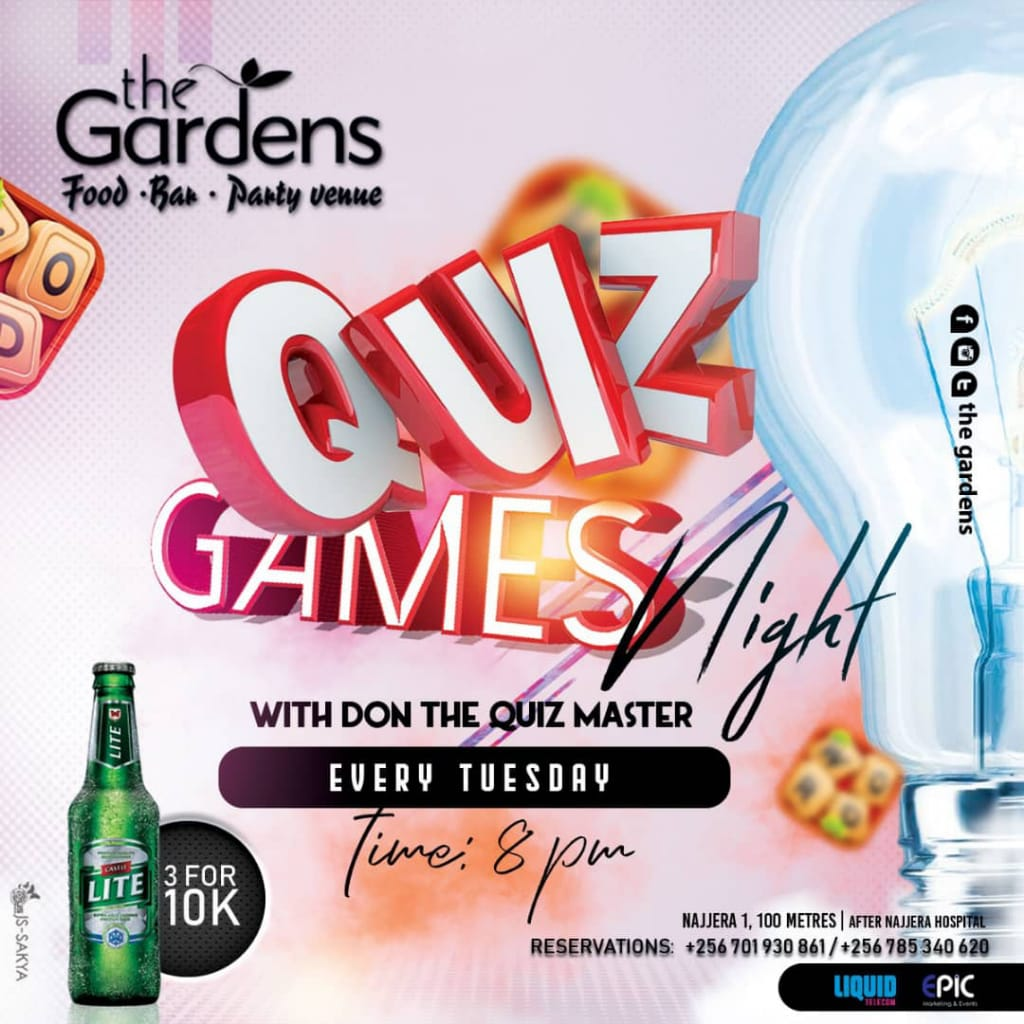 This evening we bring you Game Night Tuesdays with Quiz by @CimoneDon and a multitude of games including Playstation, Monopoly, Ludo, Draft, Chess, Snakes & Ladders,,... to say the least! Remember that you can order for 3 Castle Lites at 10k only all night! See you! https://t.co/aiMPGBQI2N