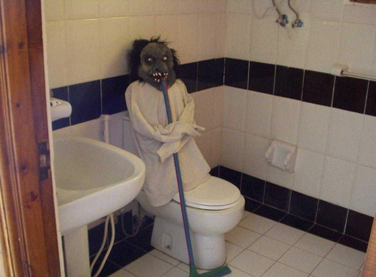 Удачной, прикольные фото в туалете
