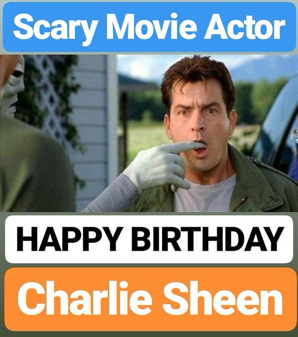 HAPPY BIRTHDAY  Charlie Sheen