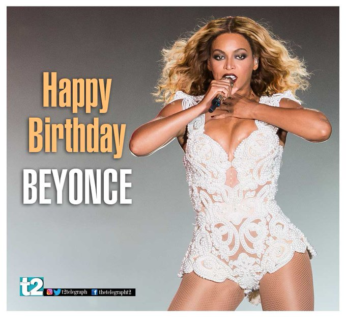 Let Queen B sting you with some cool vibes on her birthday. Happy birthday