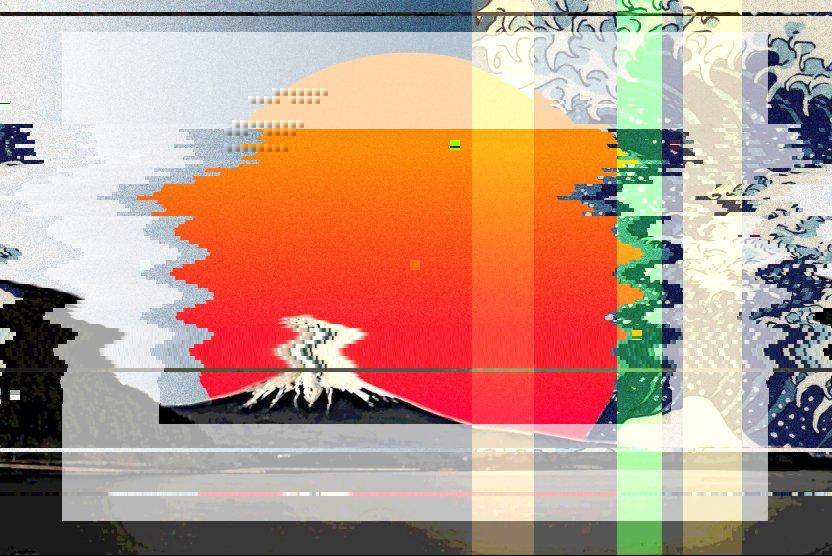 😀♻ glitchart glitch collage trippyart abstractart collageart trippy Origin img by @kyomuyomikomu