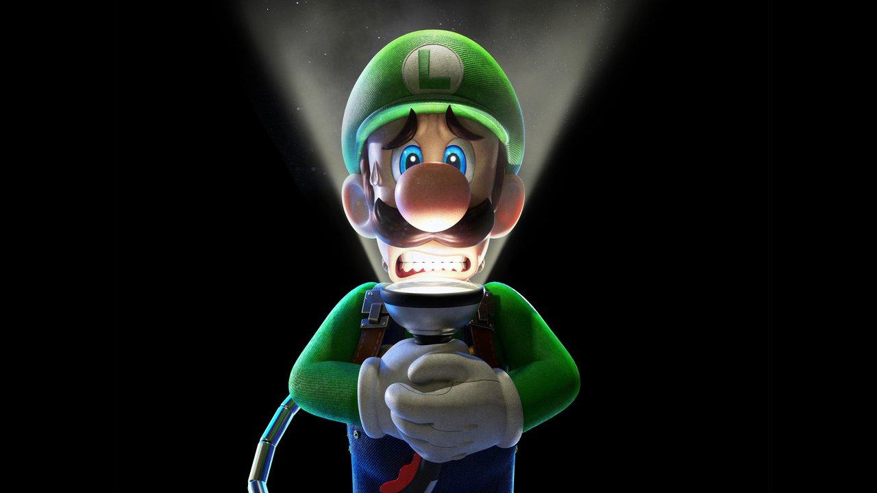 Imagen oficial del Luigi's Mansion en el Nintendo Direct