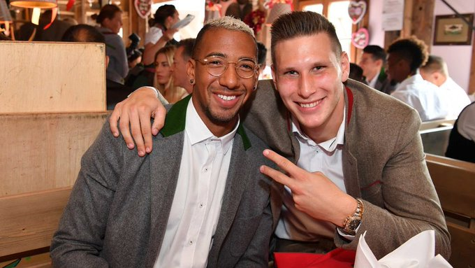 Happy Birthday to our and Niklas Sule and Jerome Boateng