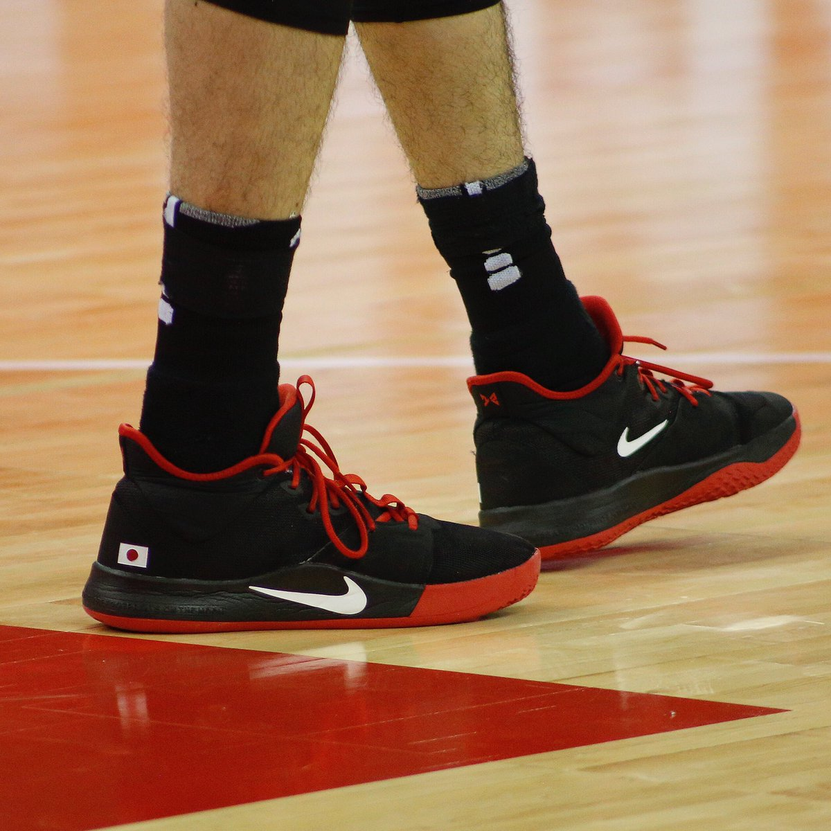 🇯🇵 @wacchi1013 in the Nike PG 3 at the @fibawc! #NBAKicks