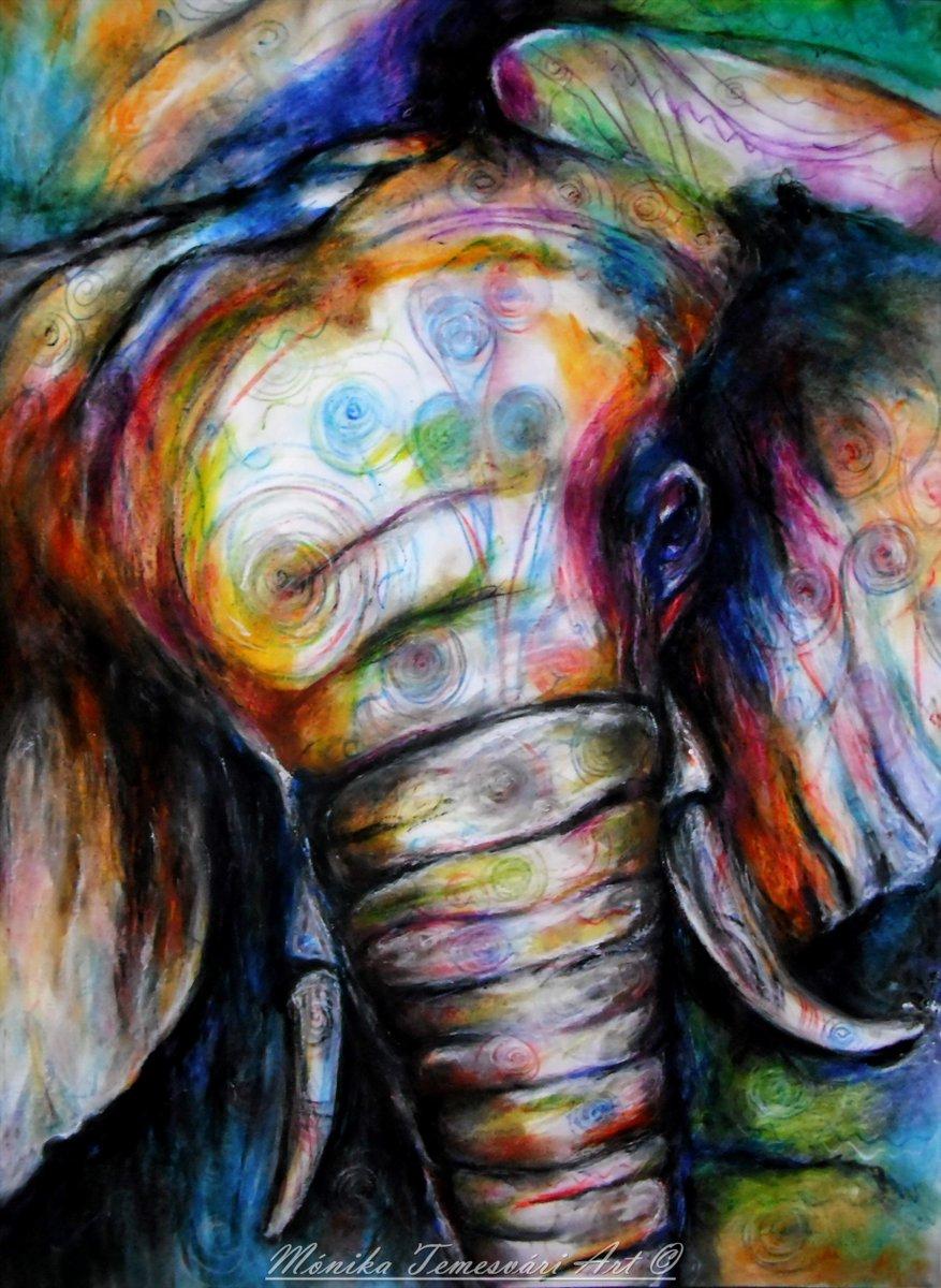 Colorful world, aquarelle pencil drawing- A3 paper #monikatemesvariart #artist #Hungary<br>http://pic.twitter.com/hzptTurSEU