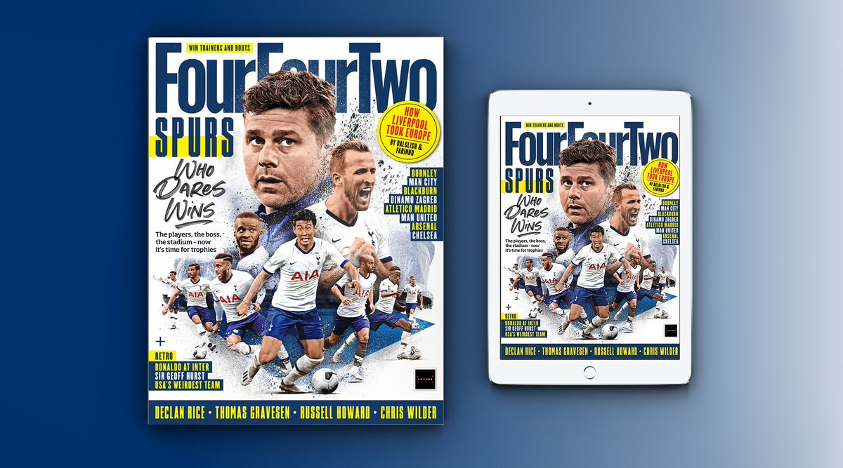 ISSUE 304 OUT NOW! 💙 Tottenham: time to deliver 🇧🇷 @LucasMoura7   🔴 The inside story of Liverpool's #UCL triumph  🏆 Meet the #UCL contenders 🔵 Ronaldo at @Inter_en  🏴 @_DeclanRice   🗣️You ask the questions with Thomas Gravesen  Plus much more...  ➡️https://t.co/PhNNcbOTKA https://t.co/vojMsHuSWC