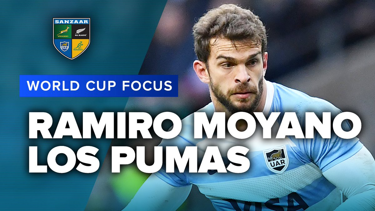 WORLD CUP FOCUS | Ramiro Moyano, Los Pumas Los Pumas Ramiro Moyano is definitely one to watch at the World Cup. Who remembers this killer solo try against the All Blacks? #RWC2019