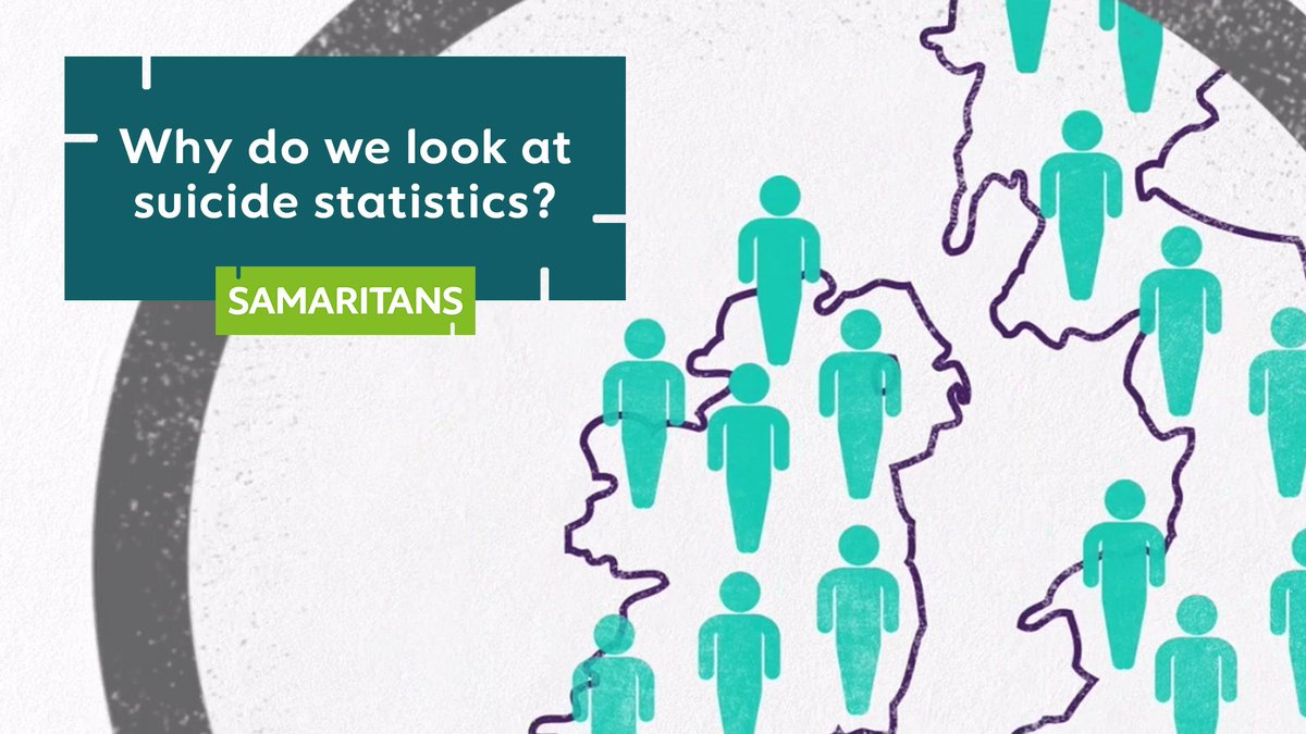 We monitor suicide data like @ONS stats released today to identify those most at risk and focus our work to prevent suicide. Watch to find out more about our work.