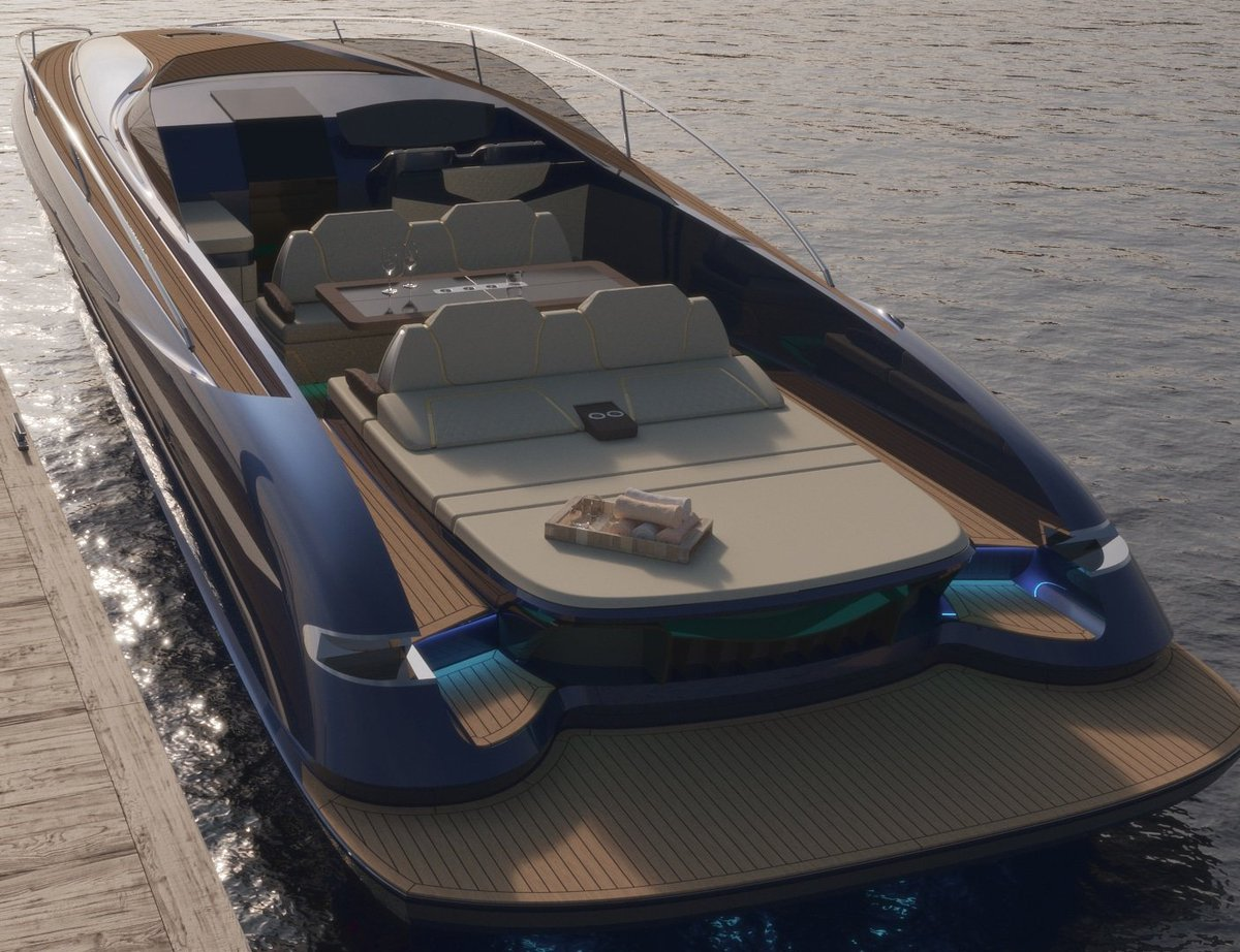 test Twitter Media - Ultra-performance from Hunton Yachts... a rendering of the all new H45 day yacht.  Info@huntonyachts.com or text/call 203 253 2836 https://t.co/QuLlu4dM12