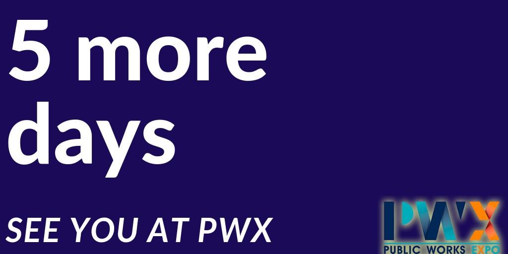 Only 5 days until the #PWX in Seattle! What are you excited to learn? Let us know below! And find out more here https://t.co/qj4cufq79v Whether you are in charge of snow removal, waste collection or street sweeping, we encourage you to stop by booth #1805 and learn more! https://t.co/XoXyHi3XaX