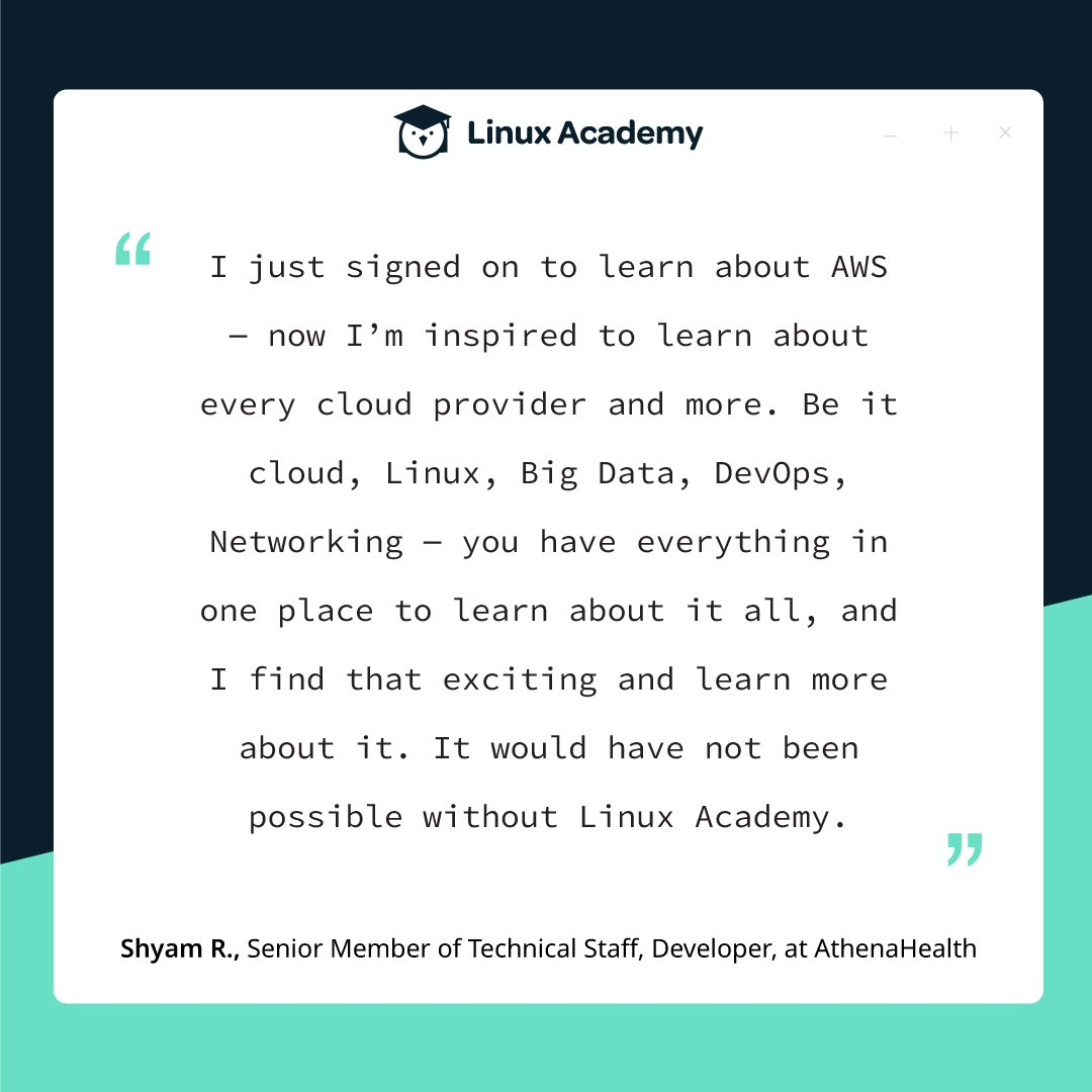 Linux Academy (@linuxacademyCOM)   Twitter
