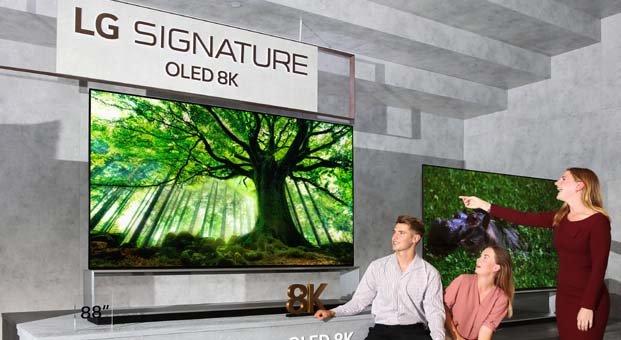 LG,8K OLED ve NanoCell TV'lerini global pazara sunuyor