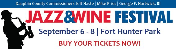 Weekend passes for Dauphin County's 13th Annual Jazz & Wine Fest at Fort Hunter Park are on sale now!