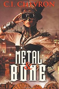 #Book 📖 Awesome of the Day: #Steampunk ⚙️ #Fantasy 'Metal And Bone' by C.I Chevron via @authoress_cj #SamaBooks️ 📚