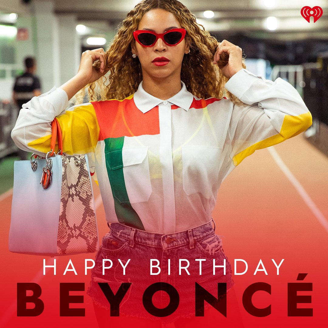 Happy Birthday to the queen,   ( :