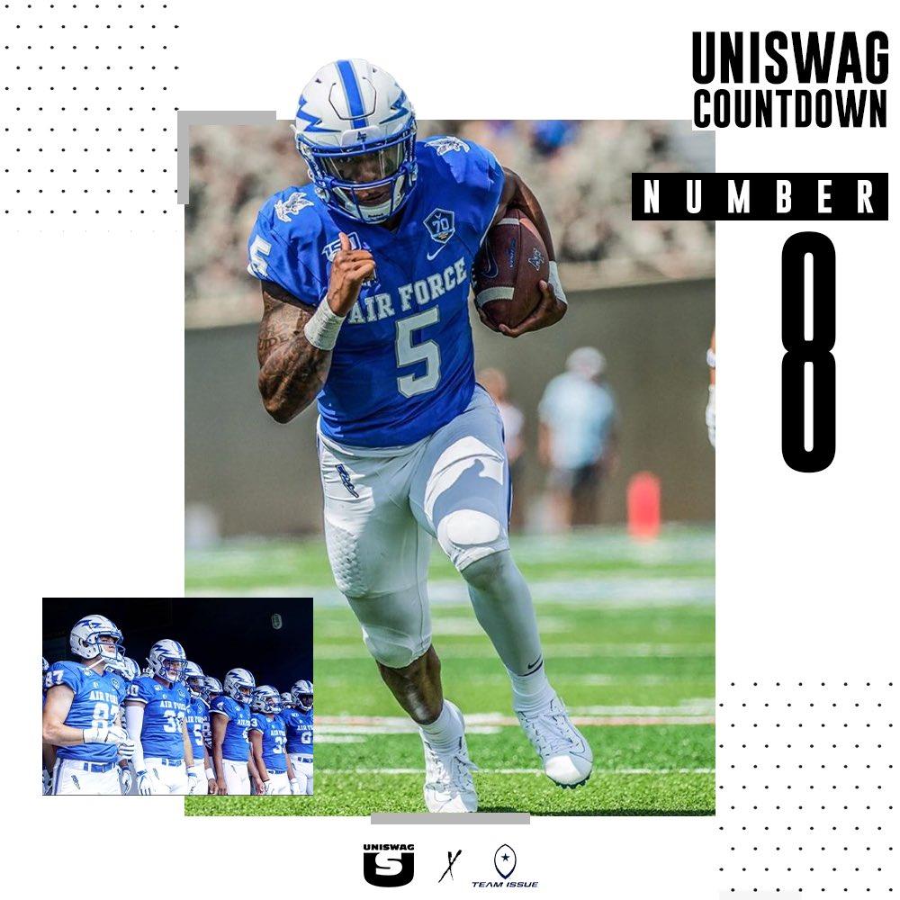 Week 1 Uniform of the Week Countdown #8 @AF_Football #uniswag