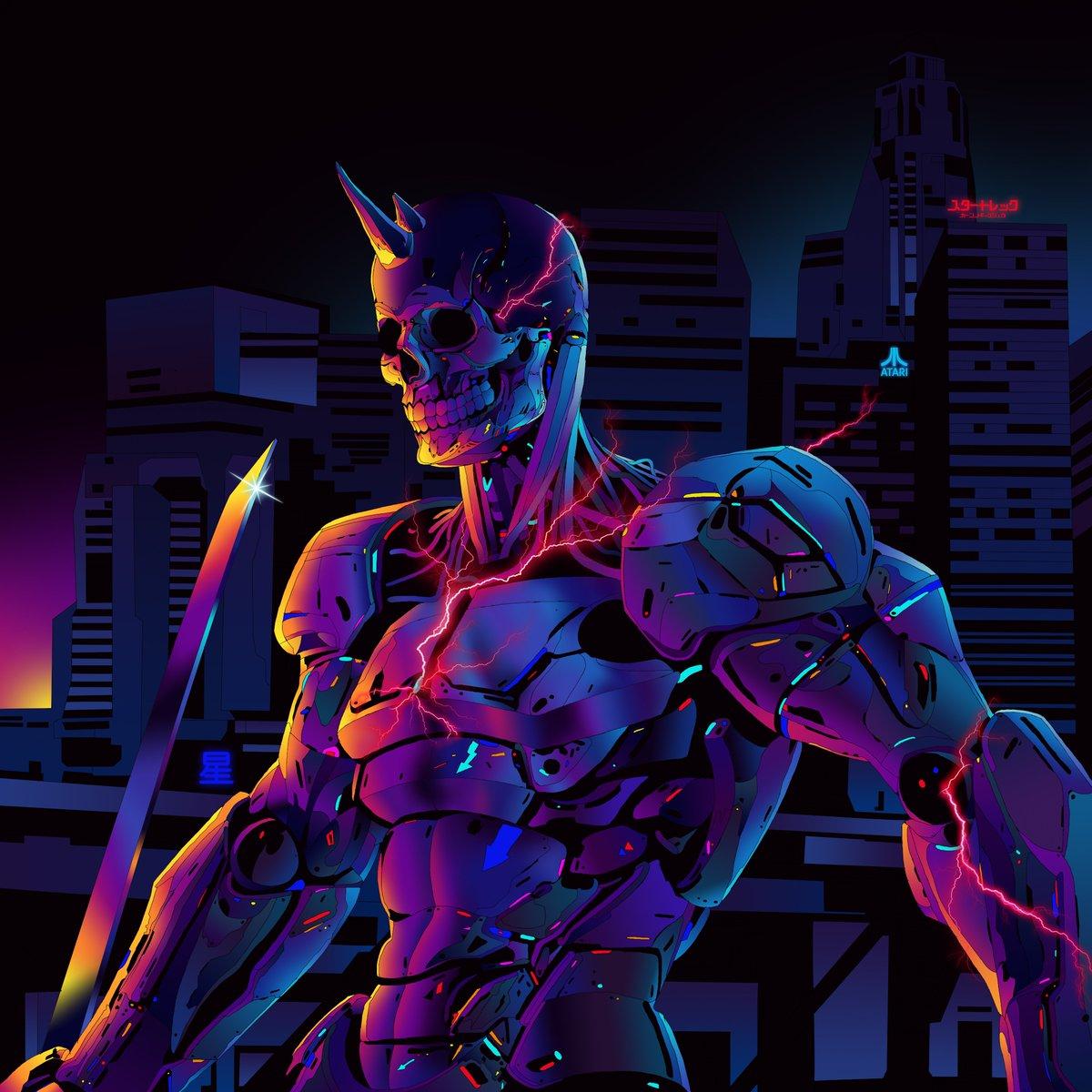 Cyborg Concept Art Anime