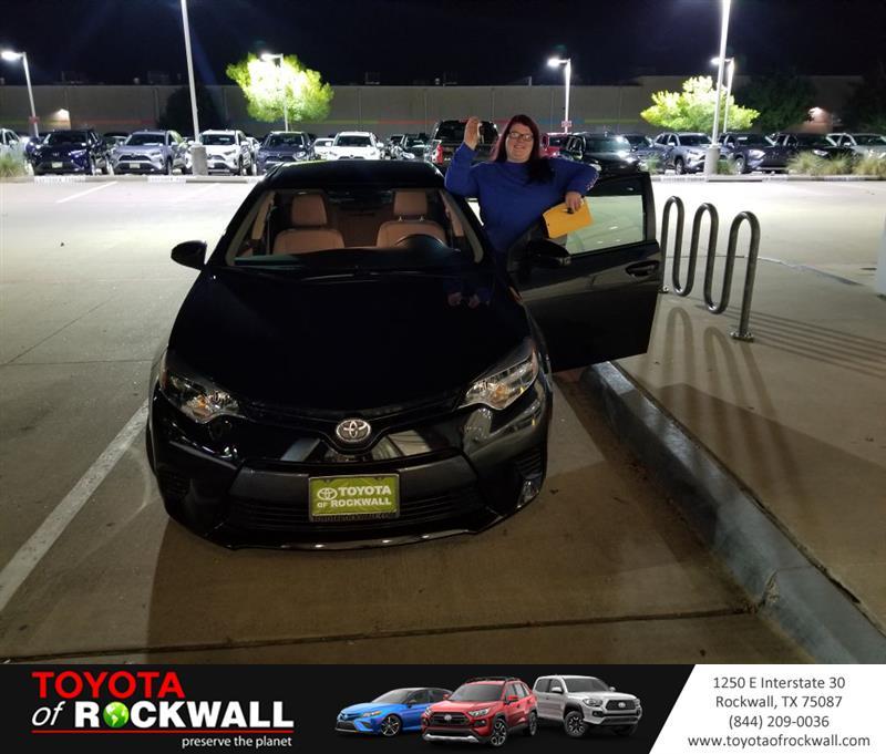 Toyota Of Rockwall >> Toyota Of Rockwall On Twitter Jaycee Johnson Great Deal