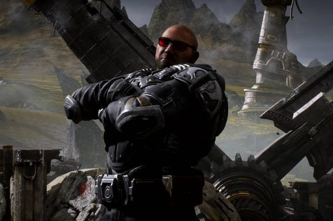 WWE Helps Batista Get Gears Of War Video Game Role