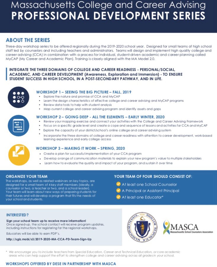MascaSchool - MASCA Massachusetts School Counselor's