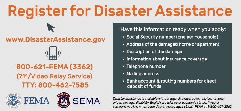 Missouri State Emergency Management Agency MoSEMA Twitter
