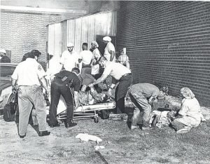 Twenty-eight years ago today, twenty-five chicken processing workers were killed when fire swept through the Imperial Food Products Company plant in Hamlet, N.C. A grease fire started on a chicken fryer and spread quickly inside the Imperial Foods Products building. https://t.co/gcPN6AwLMp