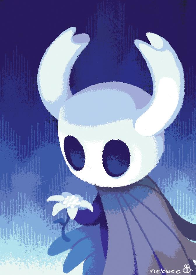 prints i did for the @SoulZine! hornet and the knight have always been my favorite hollow knight characters, so drawing them was a must for me. thanks for letting me work with you all!