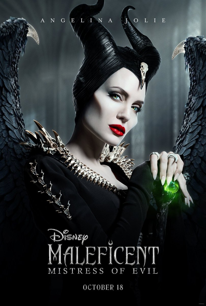 Maleficent: Mistress of Evil Character Posters