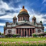 Image for the Tweet beginning: St. Isaac's Cathedral in St.