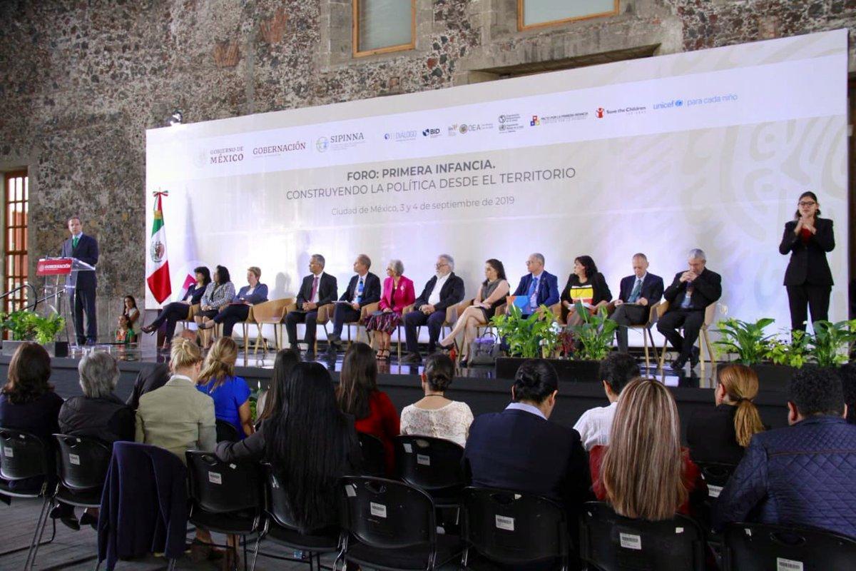 En la @SEP_mx reconocemos que sumándonos a los esfuerzos coordinados por la @SEGOB_mx,  podremos contribuir a que nuestras niñas y niños mexicanos tengan una infancia sana, formativa y feliz. Agradezco la invitación de @M_OlgaSCordero a participar en el Foro: Primera Infancia.
