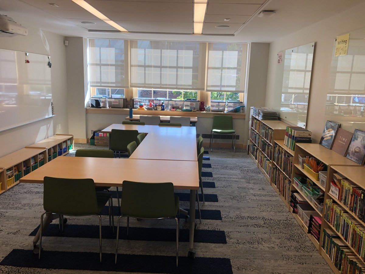Classrooms & teachers are ready! We can't wait to see everyone tomorrow. @hewittschool #BackToSchool2019