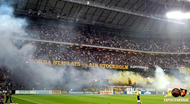Fanatics Of Football On Twitter Aik 1 Ultras Tifo Sweden