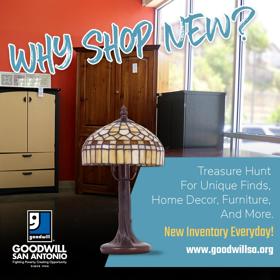Goodwill San Antonio On Twitter Looking To Save On New