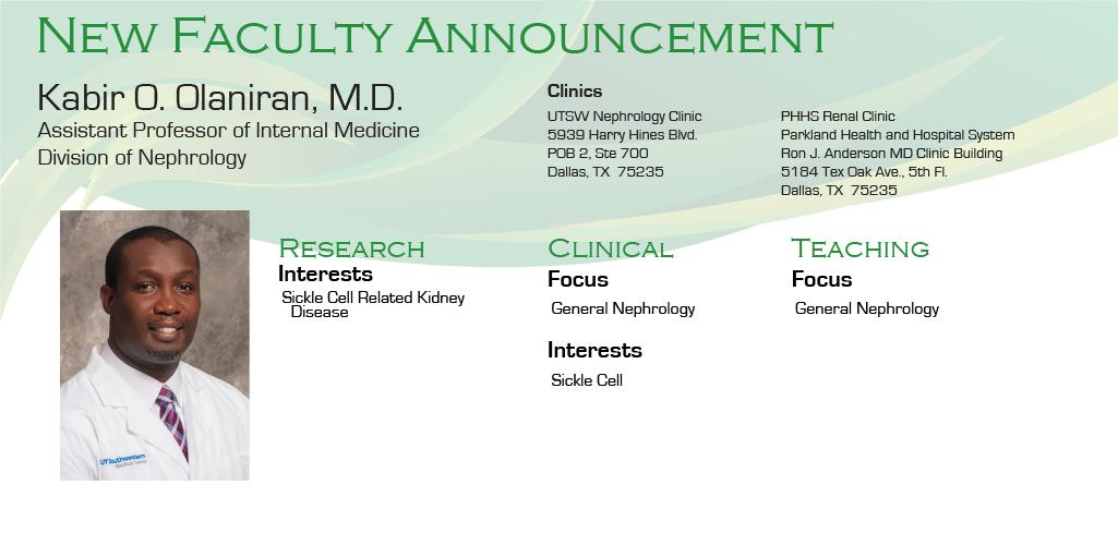 UTSW Nephrology (@UTSWNephrology) | Twitter